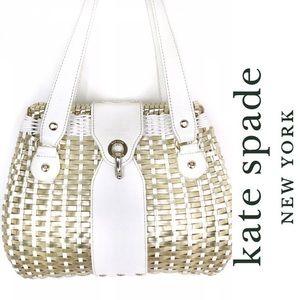 Kate Spade Havana Collection Avita Basket Bag